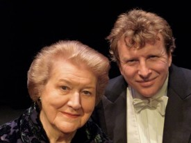 Admission: One Shilling / Piers Lane and Dame Patricia Routledge