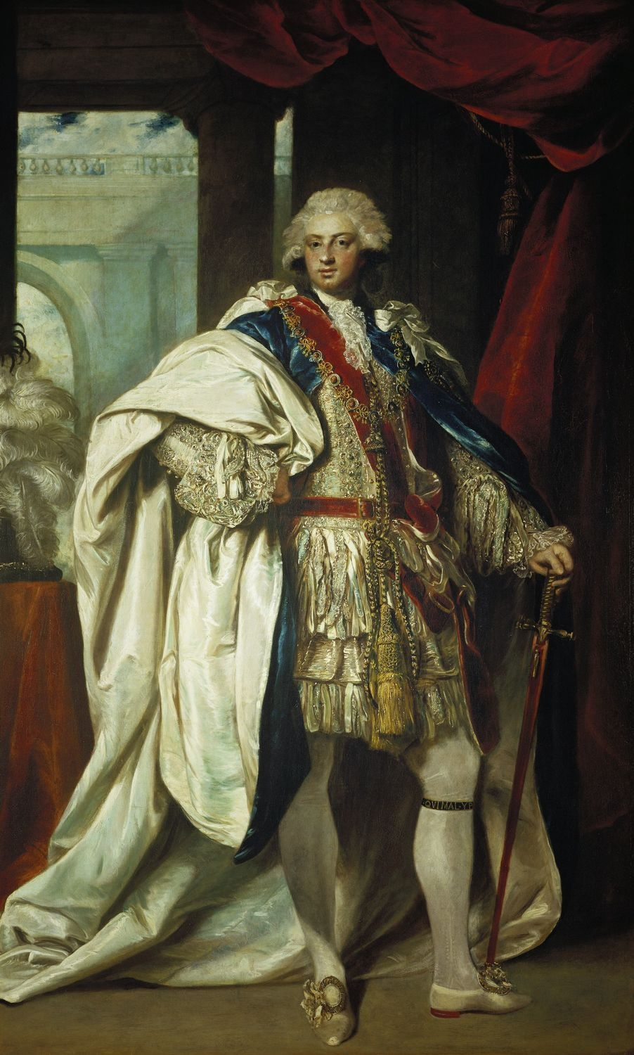 Frederick Duke of York in Garter Robes