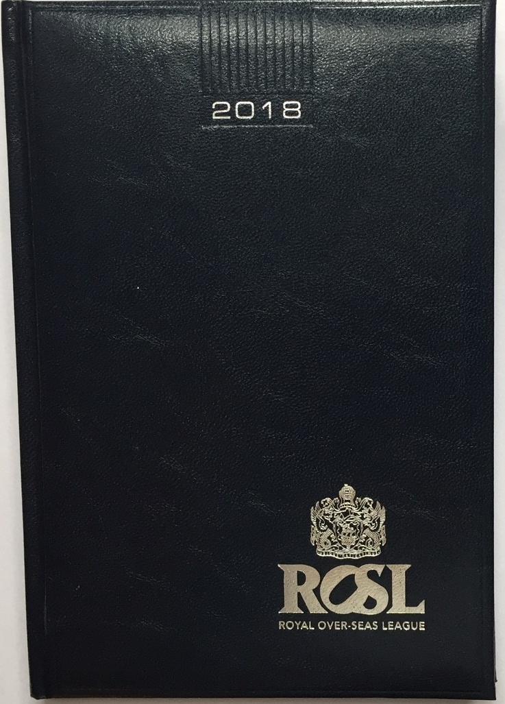 ROSL A5 Desk Diary (2018)