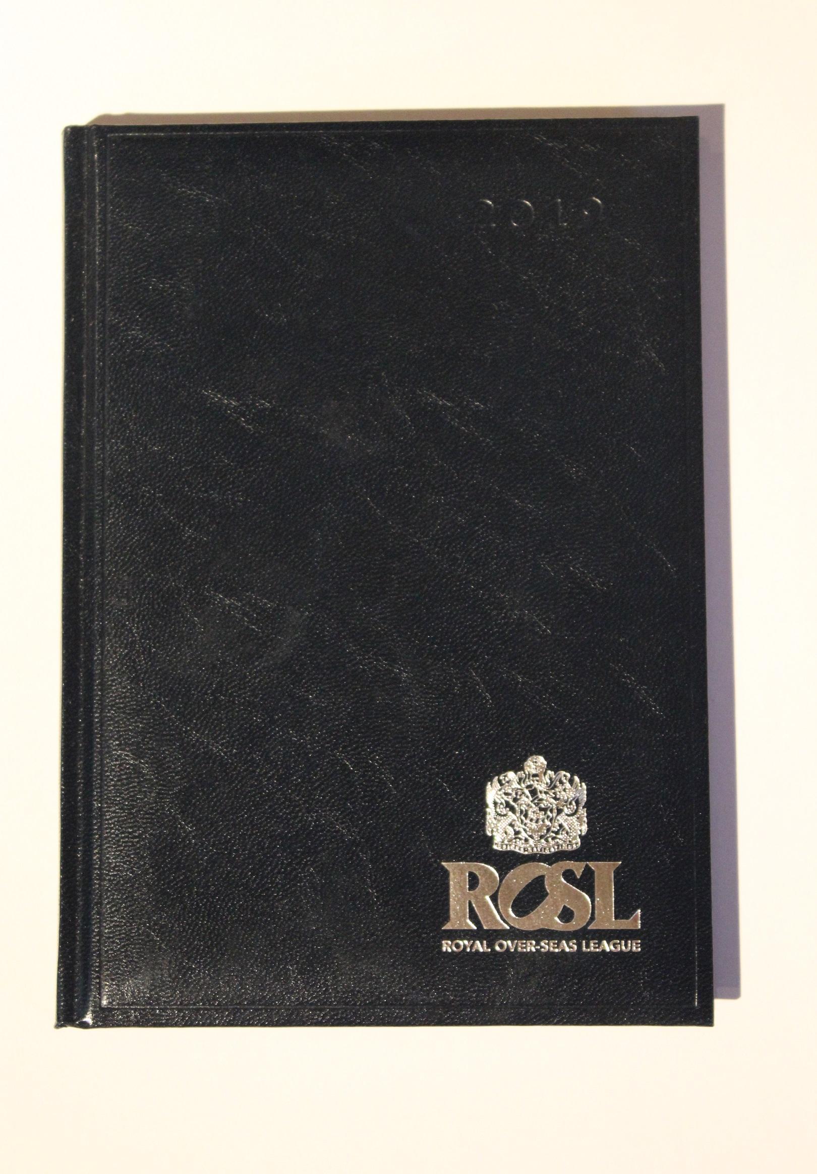 ROSL A5 Diary (2019)