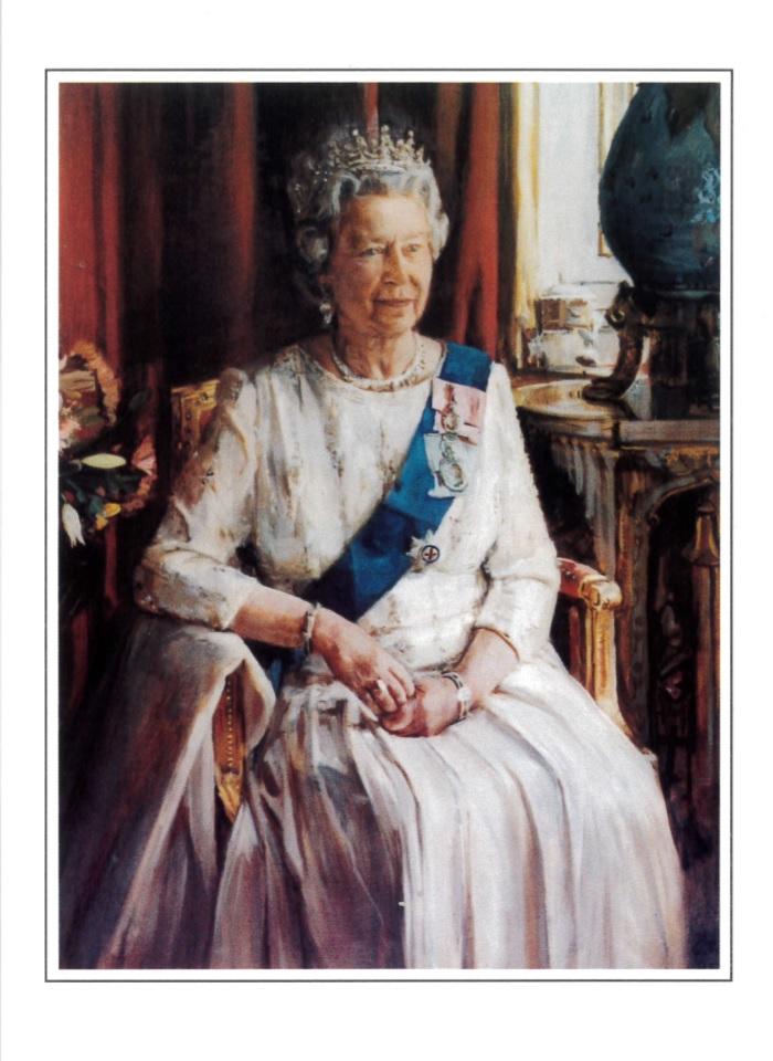 ROSL Postcard - The Queen