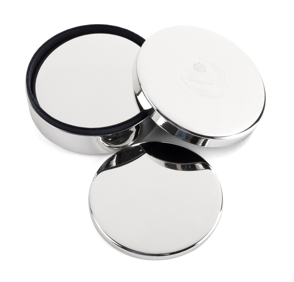 Silver-plated Coaster set